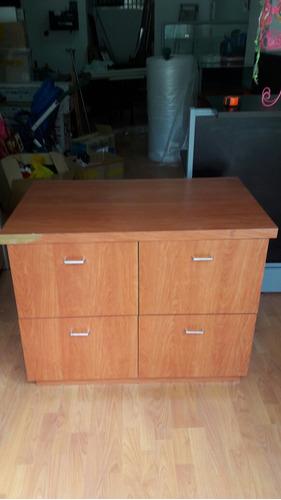 mueble 4 gavetas en mdf