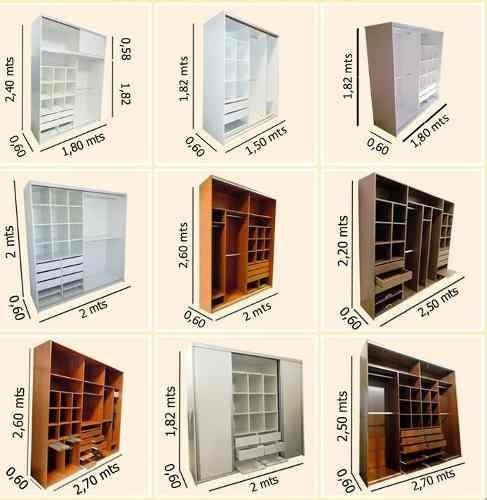 Mueble A Medida Placard Ropero Vestidor Dormitorio Comercios ...
