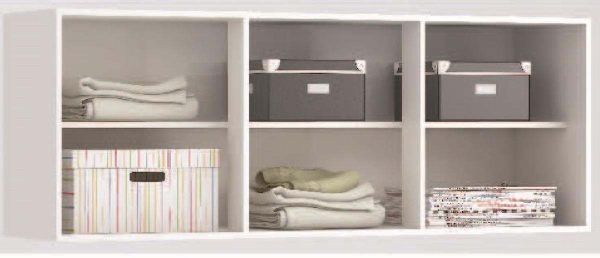 Mueble aereo 3 puertas con estante multiofertas for Mueble 3 estantes