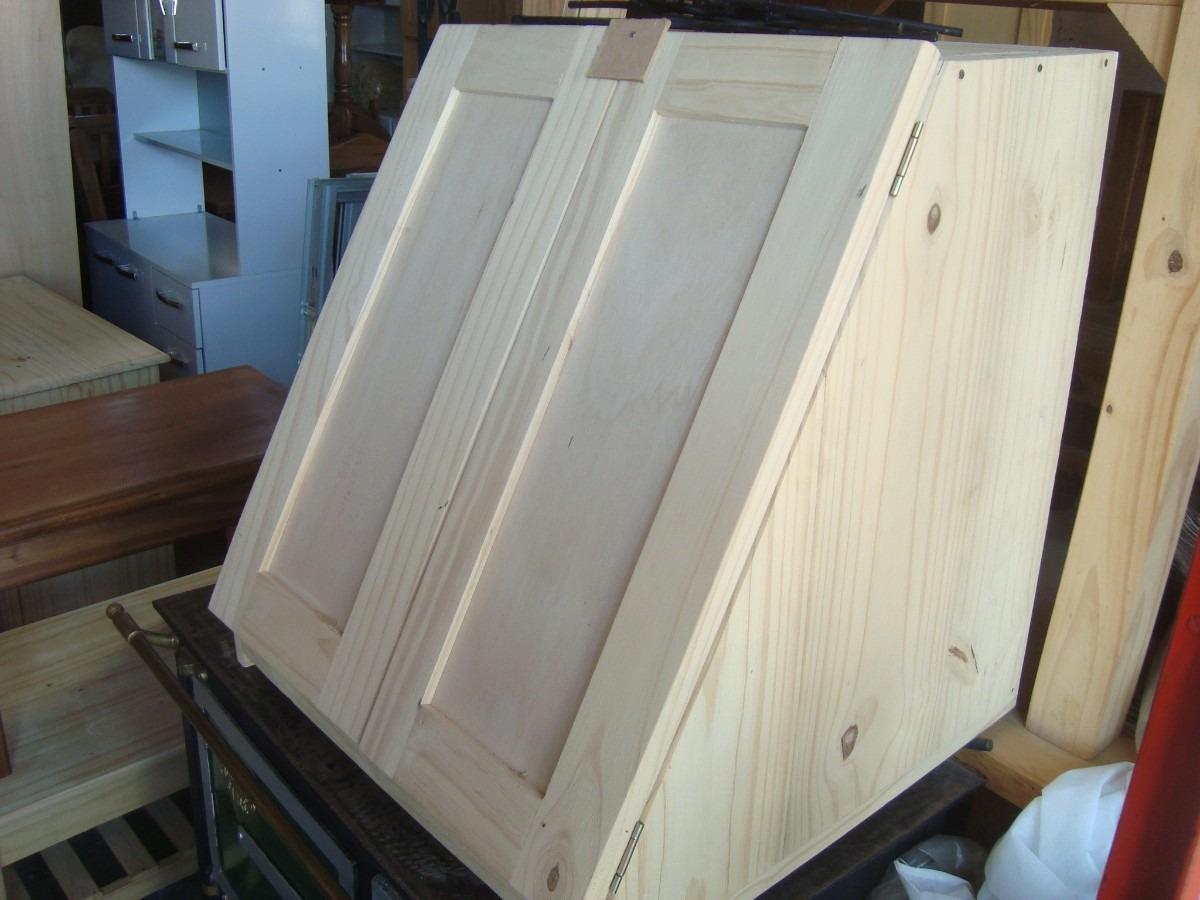 Mueble a reo campana para cocina s lustre madera 3 for Mueble aereo cocina uruguay