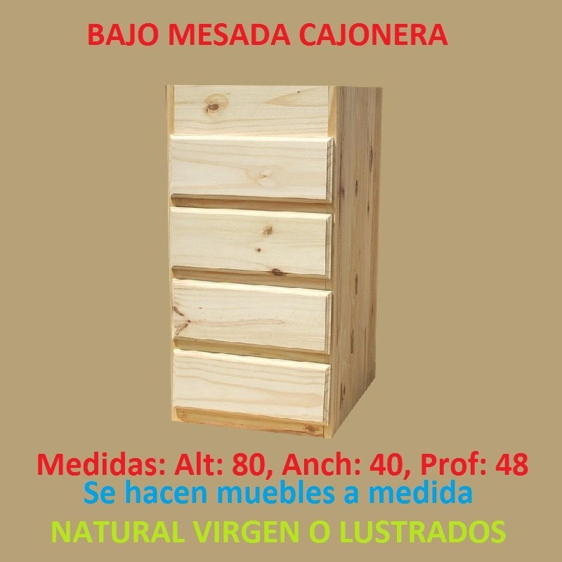 Mueble aereo esquinero de cocina de madera maciza 3 for Mueble aereo cocina uruguay