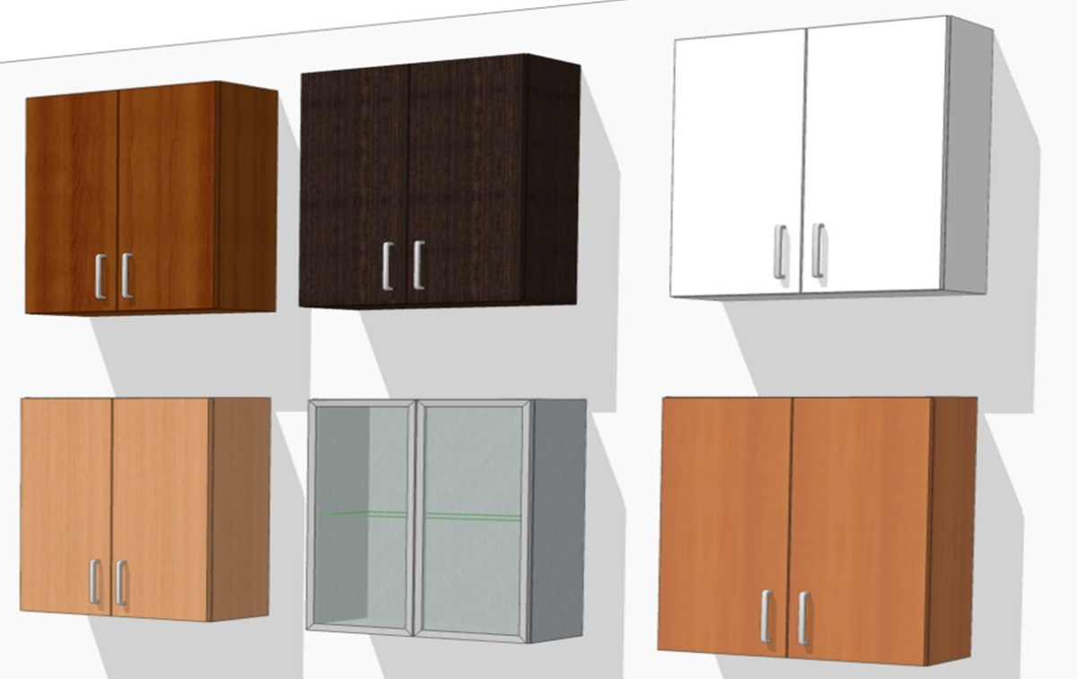 Mueble Aéreo Modular Para Cocina De 2 Puerta Horizontal 70cm - Bs ...