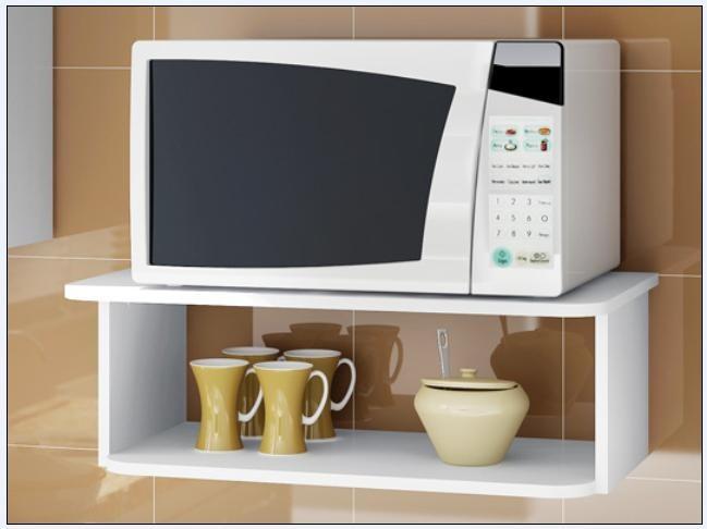 Mueble aereo p microondas multifuncional s 79 99 en for Muebles para horno de microondas