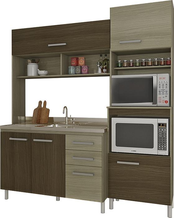 Mueble Alacena Cocina Compacta Con Mesada Incluida Divino - $ 8.333 ...