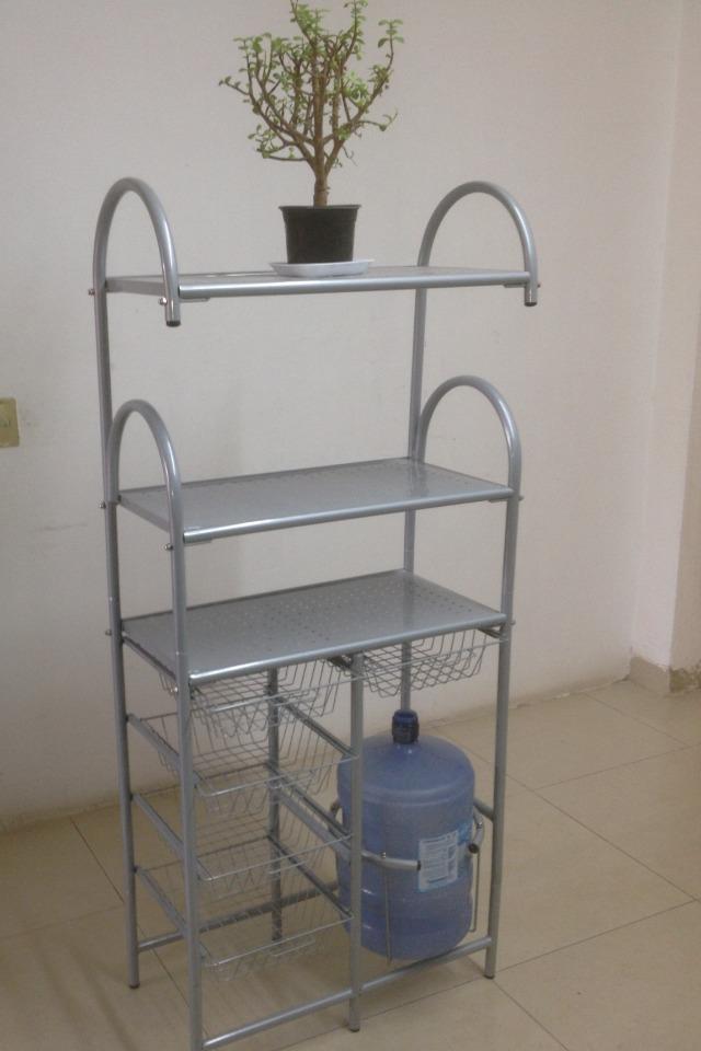 Mueble alacena para cocina para microondas en for Mueble pared cocina