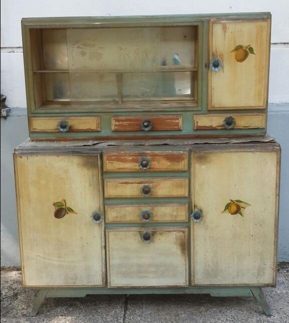 Mueble Americano De Cocina - Retro - $ 4.999,00 en Mercado Libre