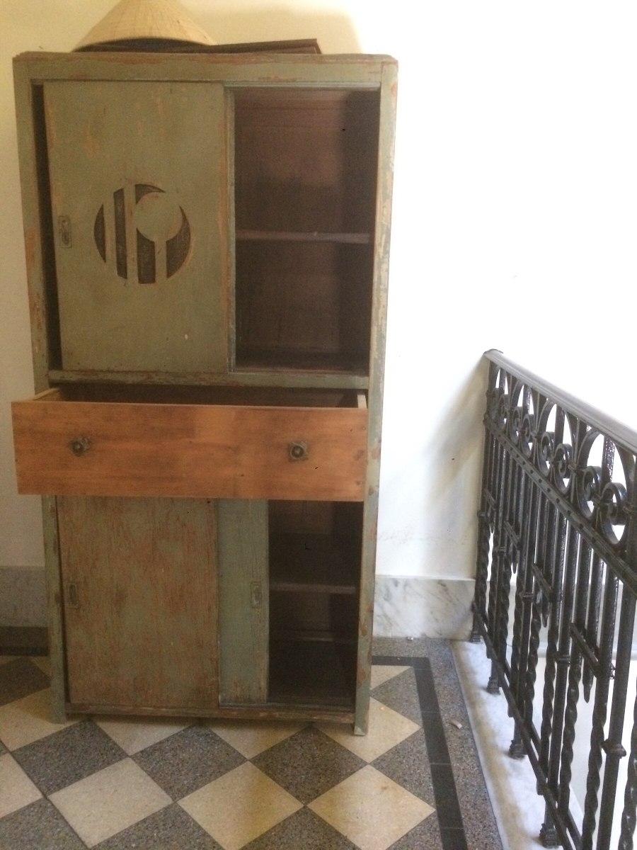 Mueble Antiguo Armario Verde - $ 2.800,00 en Mercado Libre