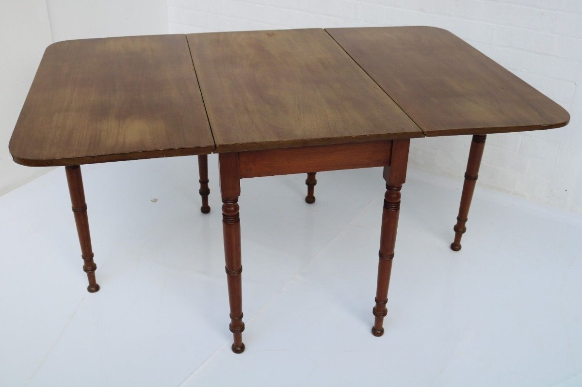 Mueble Antiguo Mesa Comedor Inglesa Caoba Abatible - $ 283.000 en ...