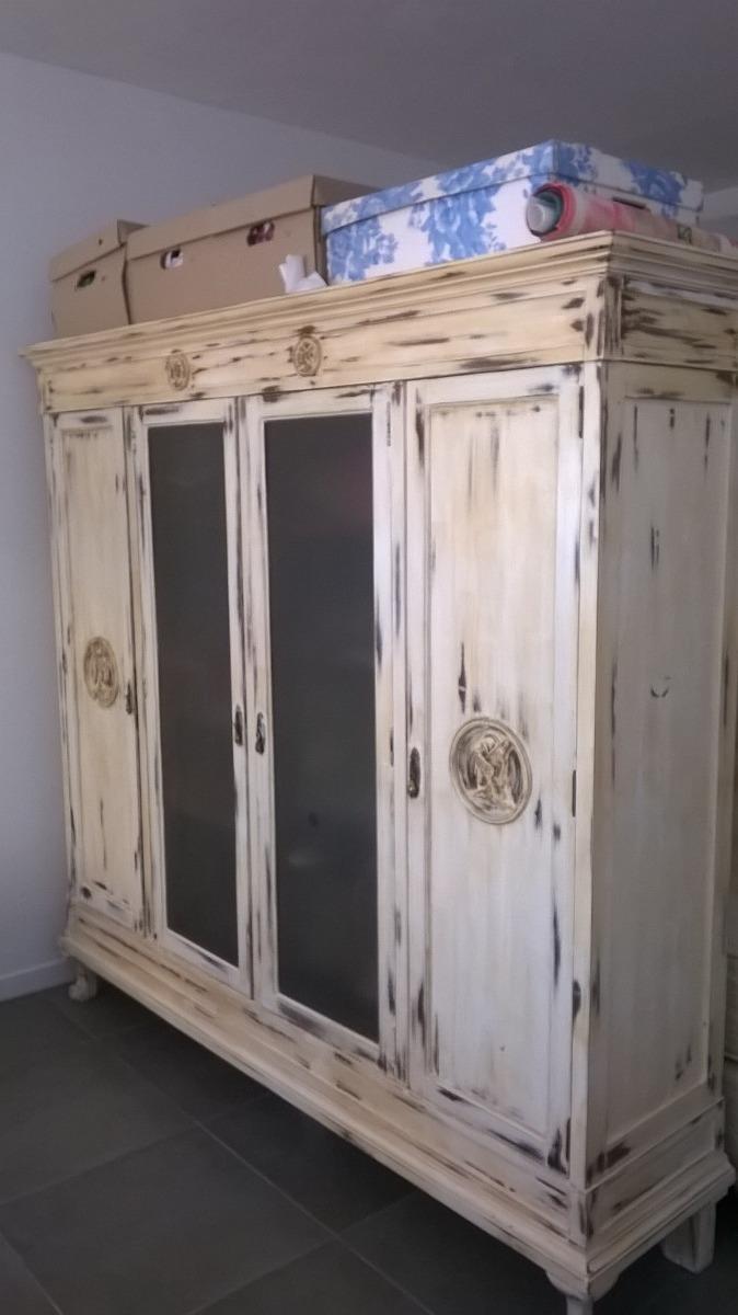 Mueble antiguo vajillero biblioteca armario para restaurar - Restaurar armario ...