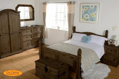 mueble - aparador - bargueño - estilo mexicano - madera- lcm