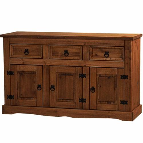 mueble - aparador - bargueño - living - comedor - madera-lcm