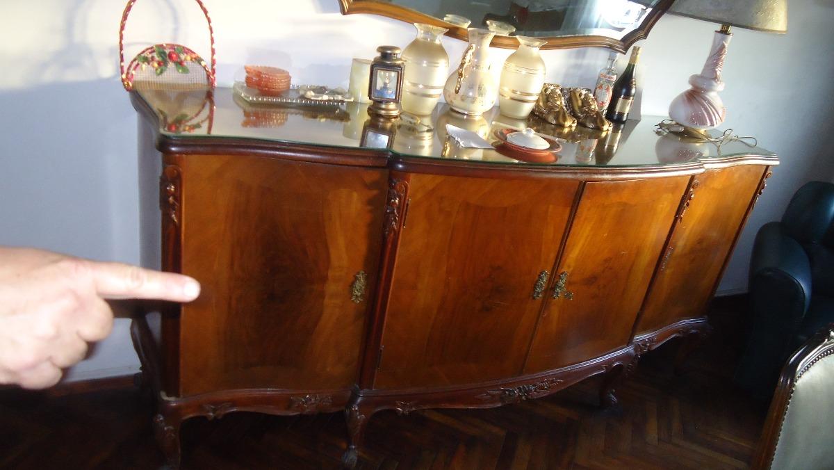 Mueble aparador luis 15 y mesa antigua juego de comedor - Mueble aparador para comedor ...
