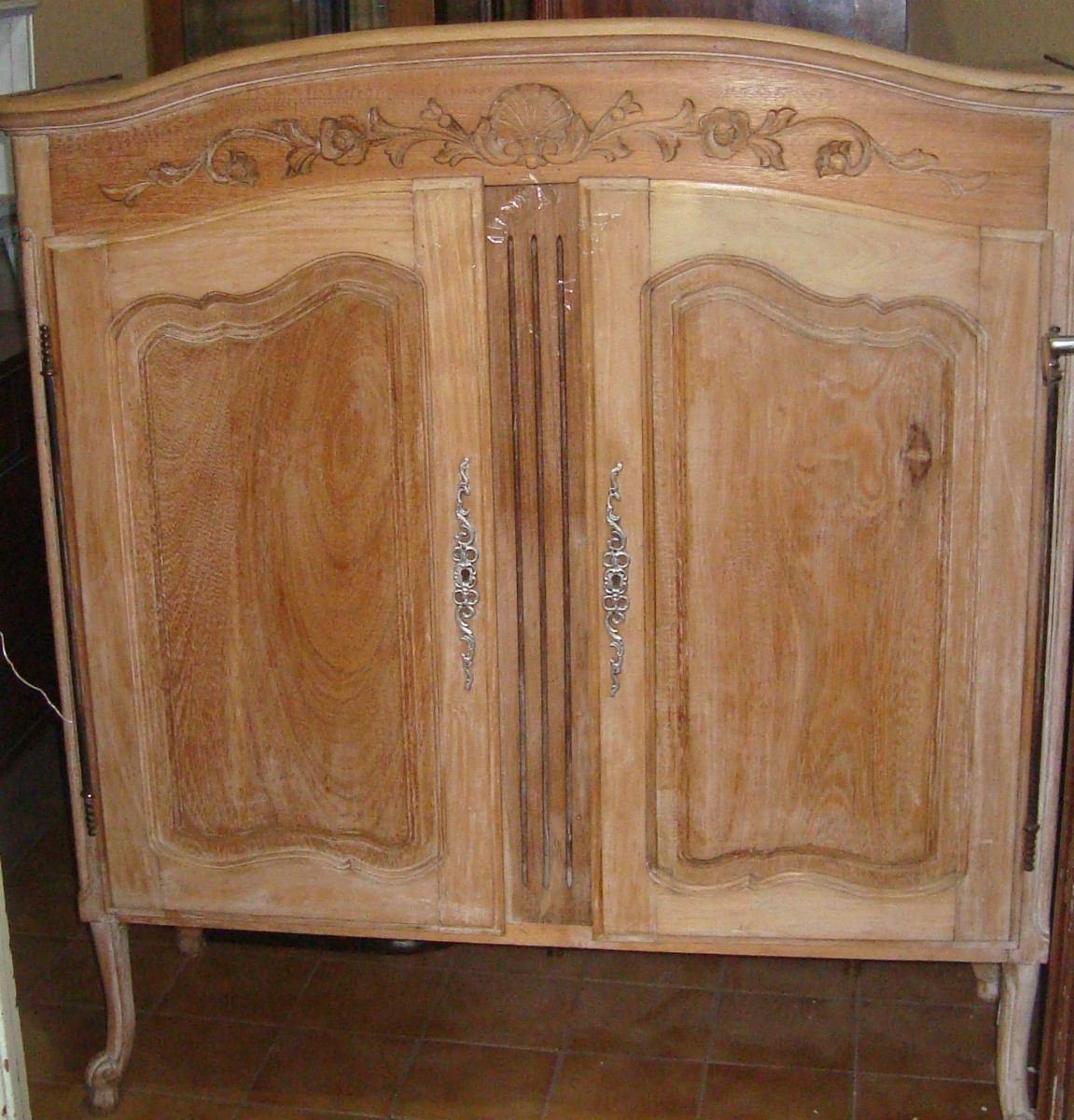 Mueble aparador vitrina madera cerezo valencia posot class - Muebles antiguos valencia ...