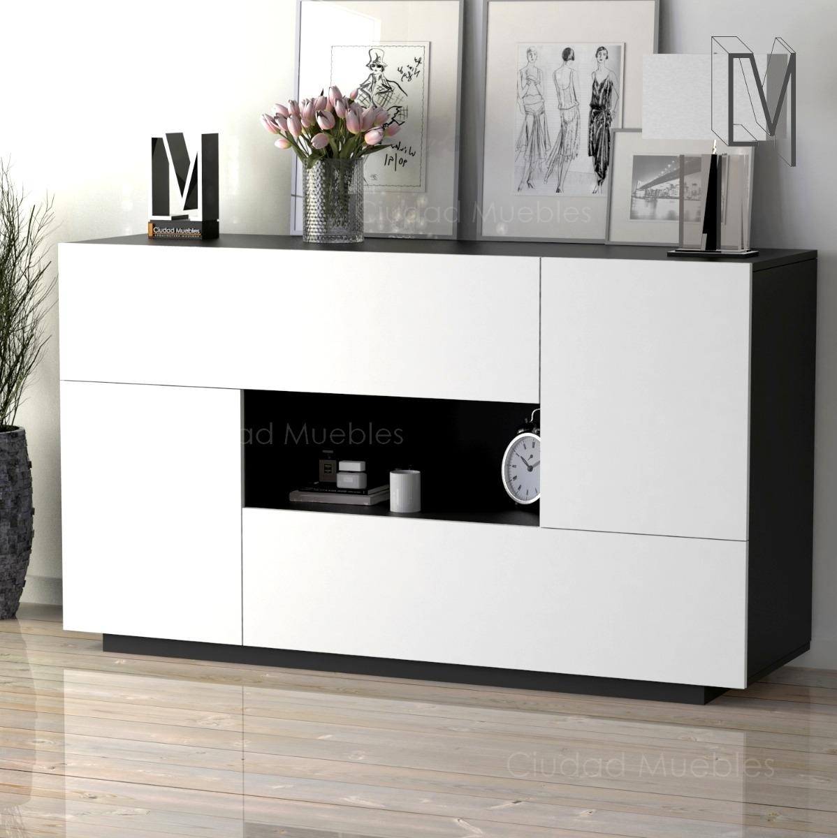 Mueble Aparador Vajillero Moderno Comedor 140cm De Largo - $ 6.680 ...