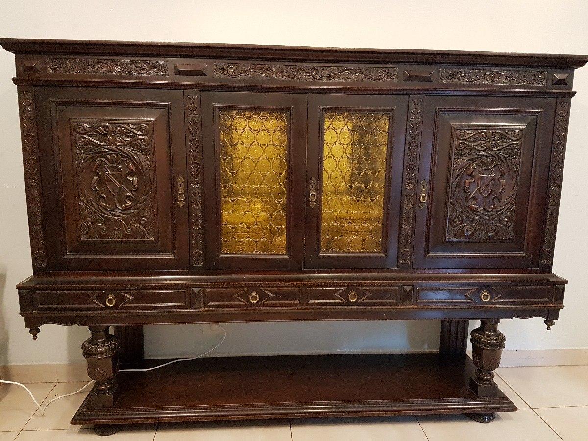 Mueble Armario Comedor Con Estilo De Muy Buena Madera - $ 7.000,00 ...