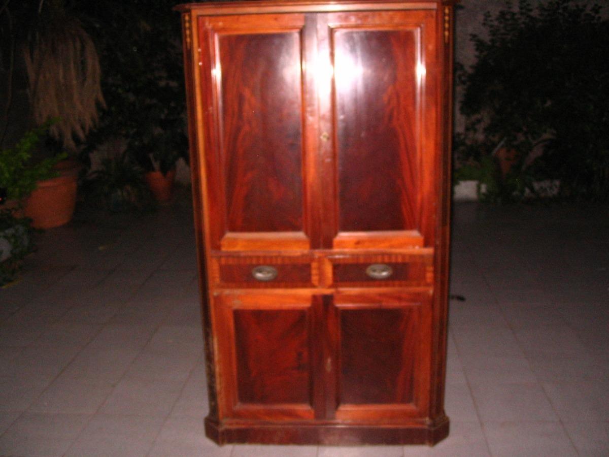 Mueble Armario Secreter Living Sala Comedor - $ 4.999,00 en Mercado ...