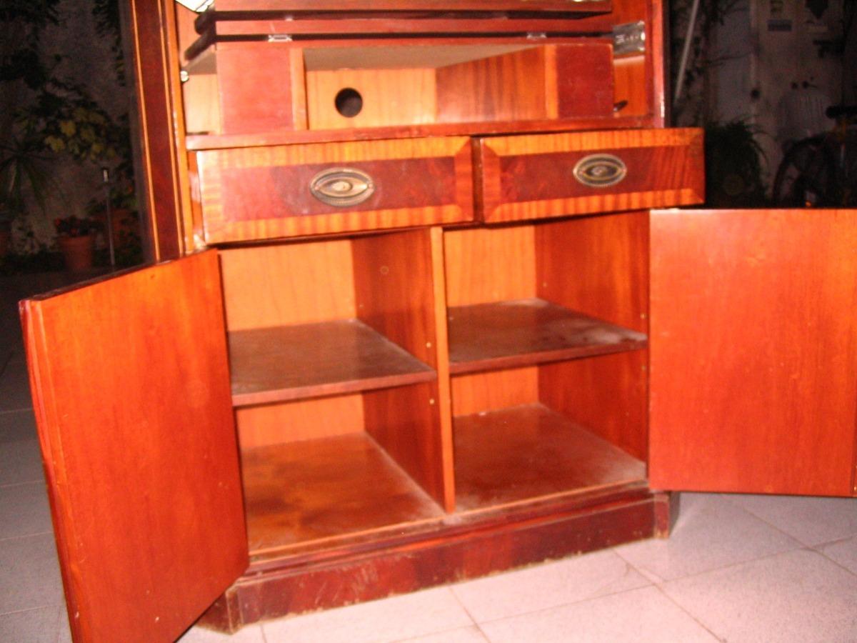 Mueble Armario Secreter Living Sala Comedor - $ 5.999,00 en Mercado ...
