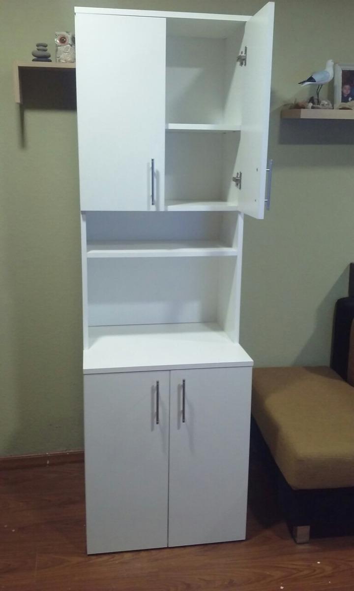 Mueble Auxiliar Cocina Porta Microondas Y Alacena - $ 3.300,00 en ...