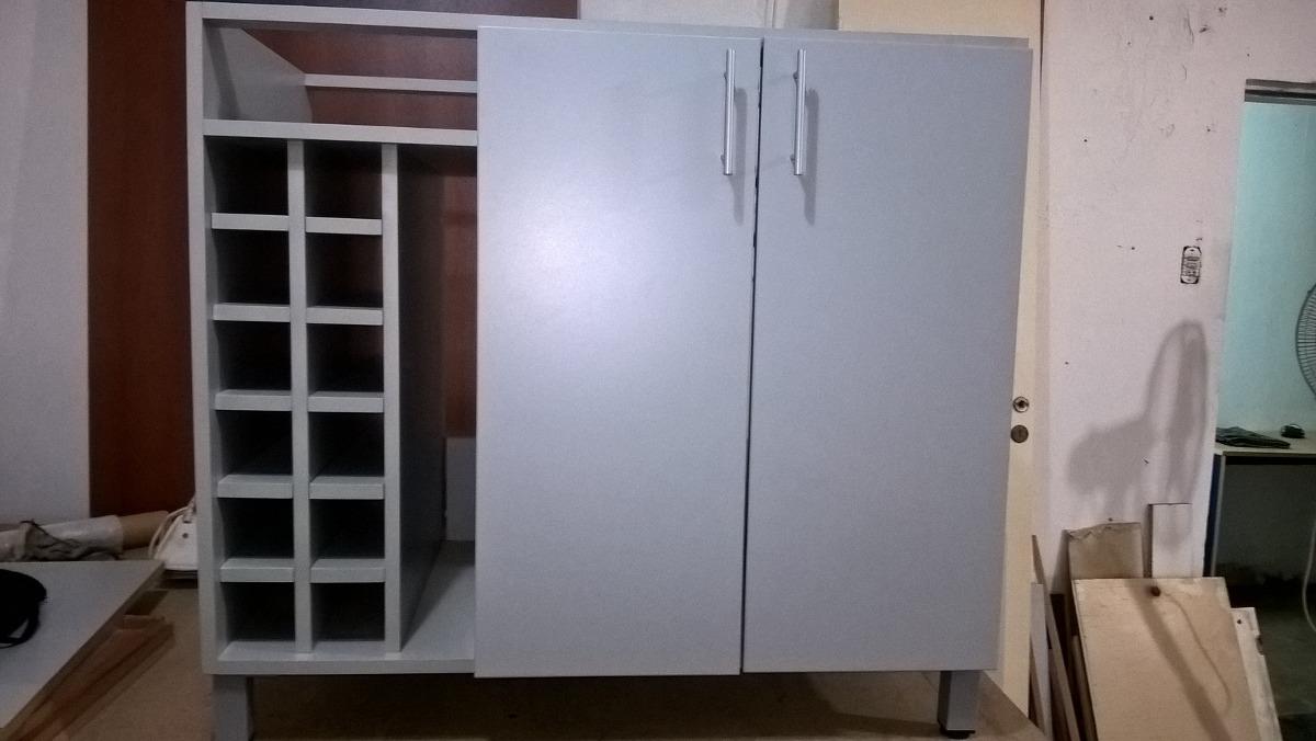 Mueble Auxiliar De Cocina En Melamina - $ 3.800,00 en Mercado Libre