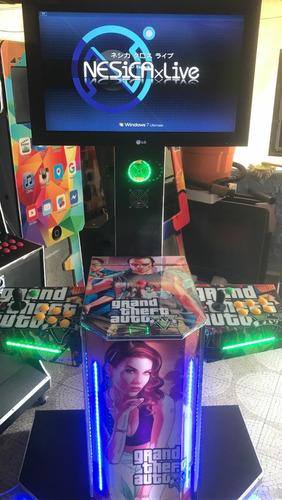 mueble avion arcade