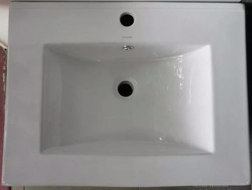 mueble + bacha de baño aereo suspendido 60 cm u$s246