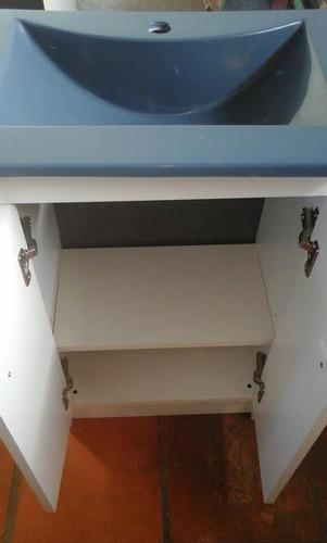 mueble+ bacha pileta recta+ armado+ colores+ cuotas