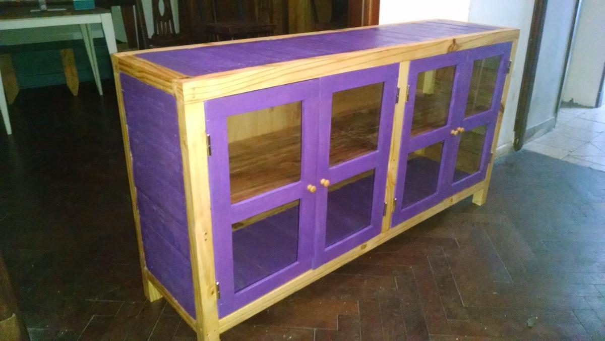 Mueble Bahiut Rústico En Pino Paraná Y Madera Reciclada!!! - $ 5.000 ...