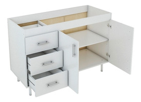 Mueble Bajo Mesada Cocina 1.20 Económico 120 Melamina Nuevo