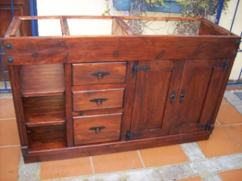 mueble bajo mesada de ba o ptas cajones y estante 11