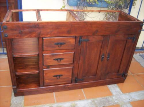 Mueble bajo mesada de ba o ptas cajones y estante 11 - Mueble bajo bano ...