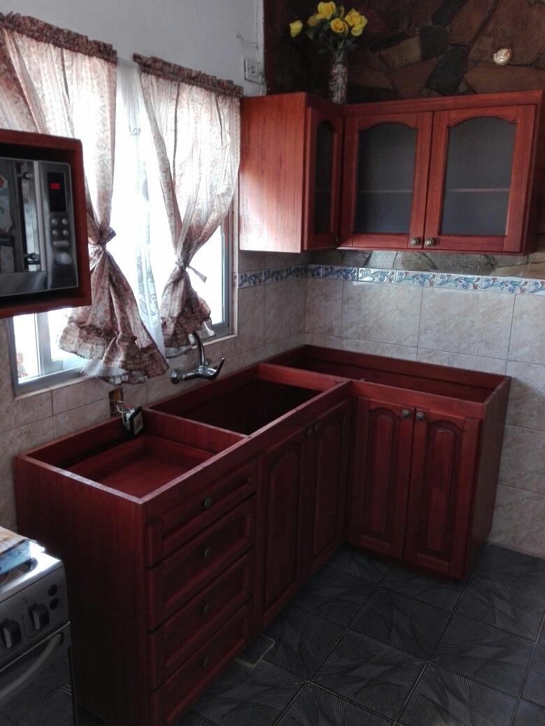 Mueble Bajo Mesada Para Cocina O Barbacoa En Madera
