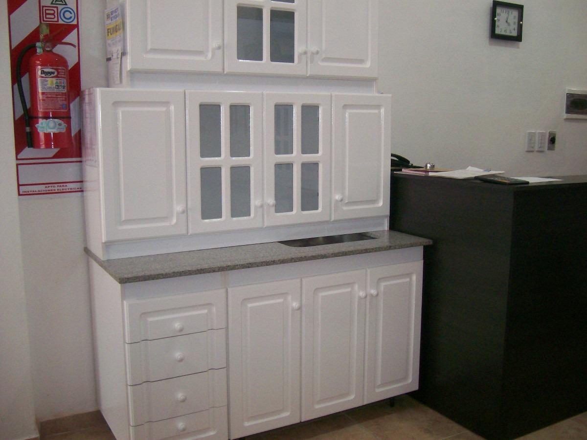 Mueble Bajo Mesada Y Alacena Pint, Blanco 1.20 Mts - $ 4.900,00 en ...