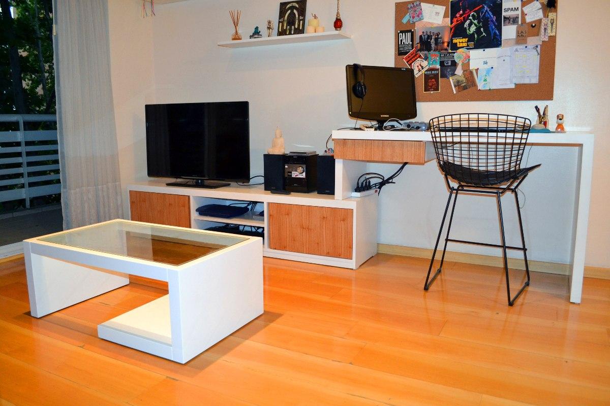 Mueble Para Escritorio Cmo Fabricar Un Escritorio With Mueble  # Muebles Para Notebook E Impresora