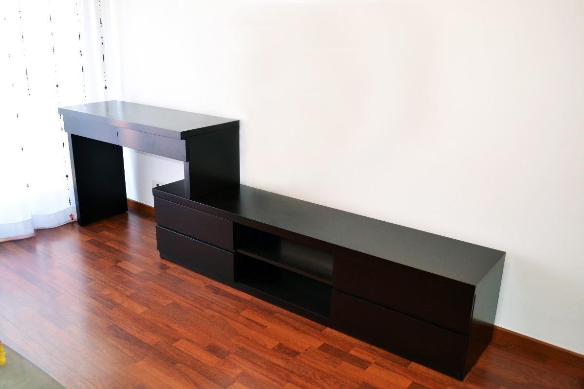 Mueble bajo tv dise os arquitect nicos for Mueble bajo escritorio