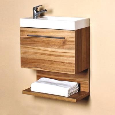 Mueble para ba o con lavabo y espejo coru a 50 castel - Mueble lavabo esquinero ...