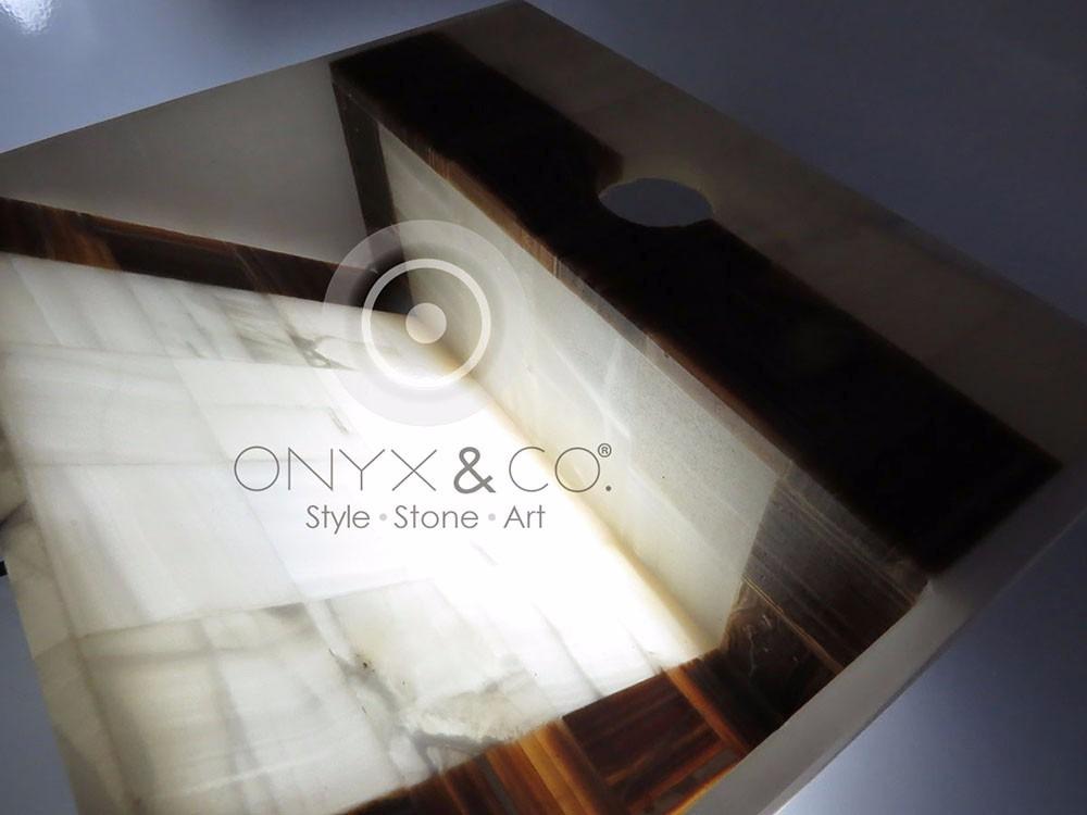 Muebles Para Baño Puebla:Mueble Baño Lavabos Ovalin Onix-marmol Minimalista Moderno – $ 79000