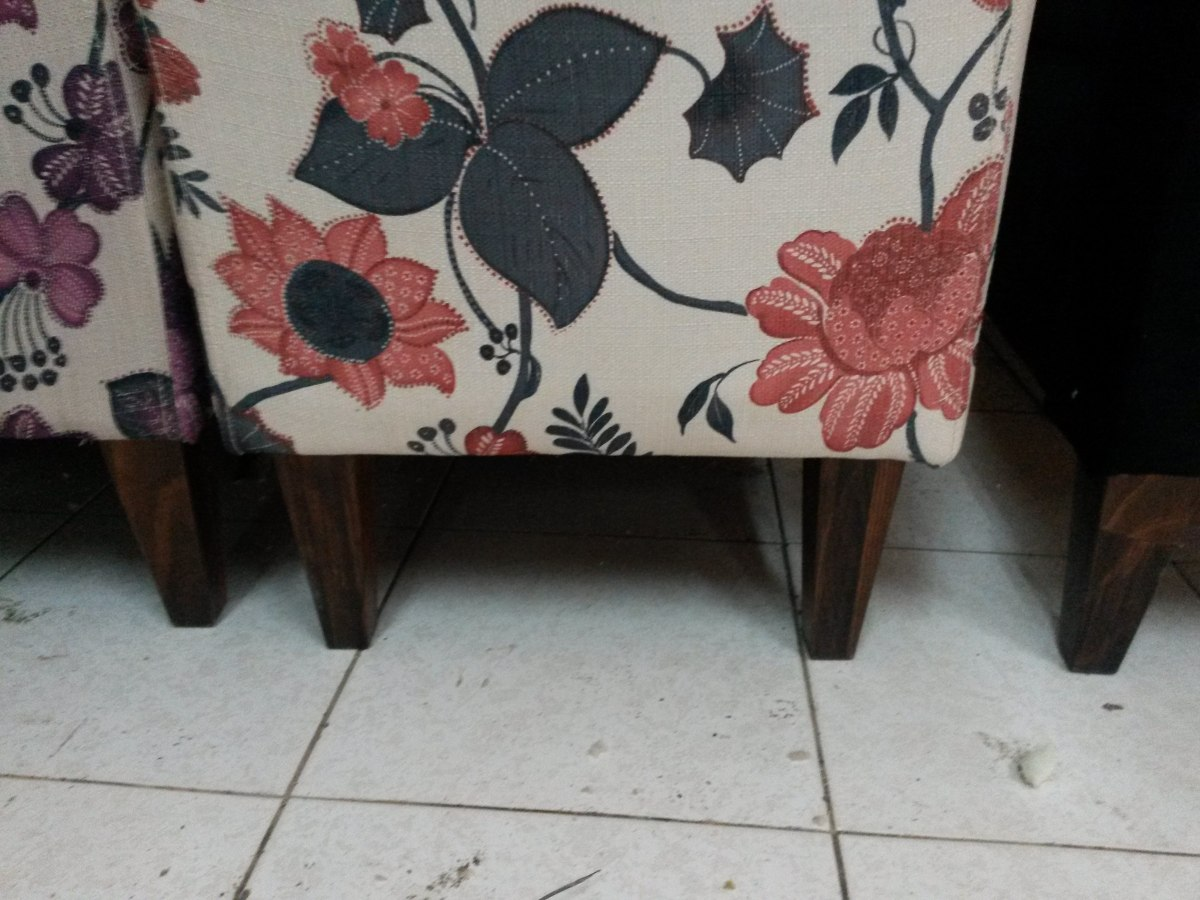 Mueble banqueta baul o cerrada con patchwork asiento - Baul con asiento ...