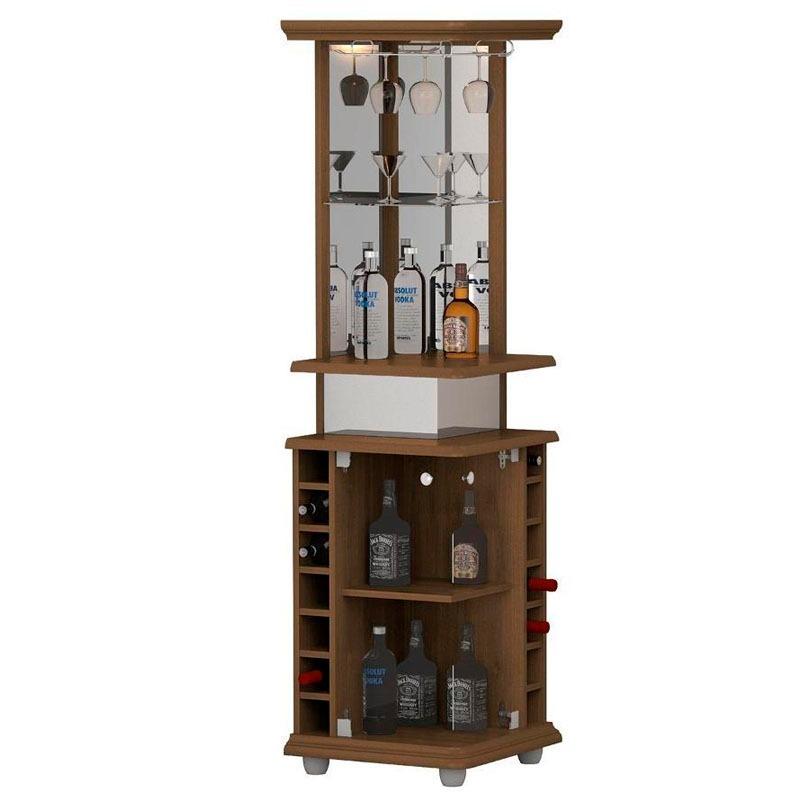 Mueble Bar Drink Esquinero San Marcos - $ 7.290,00 en Mercado Libre