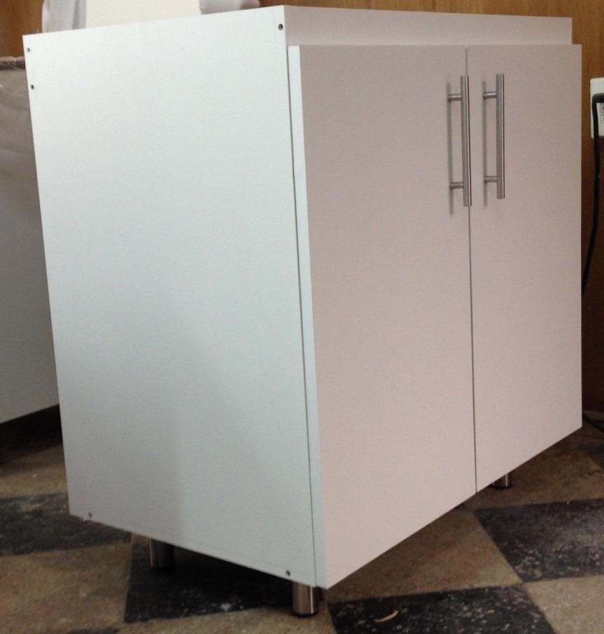 Mueble base cocina 80x50x83 en mercado libre for Severino muebles cocina alacena melamina blanca