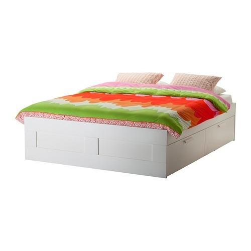 Mueble Tipo Ikea Brimnes Base Para Cama Queen Con Cajones ...