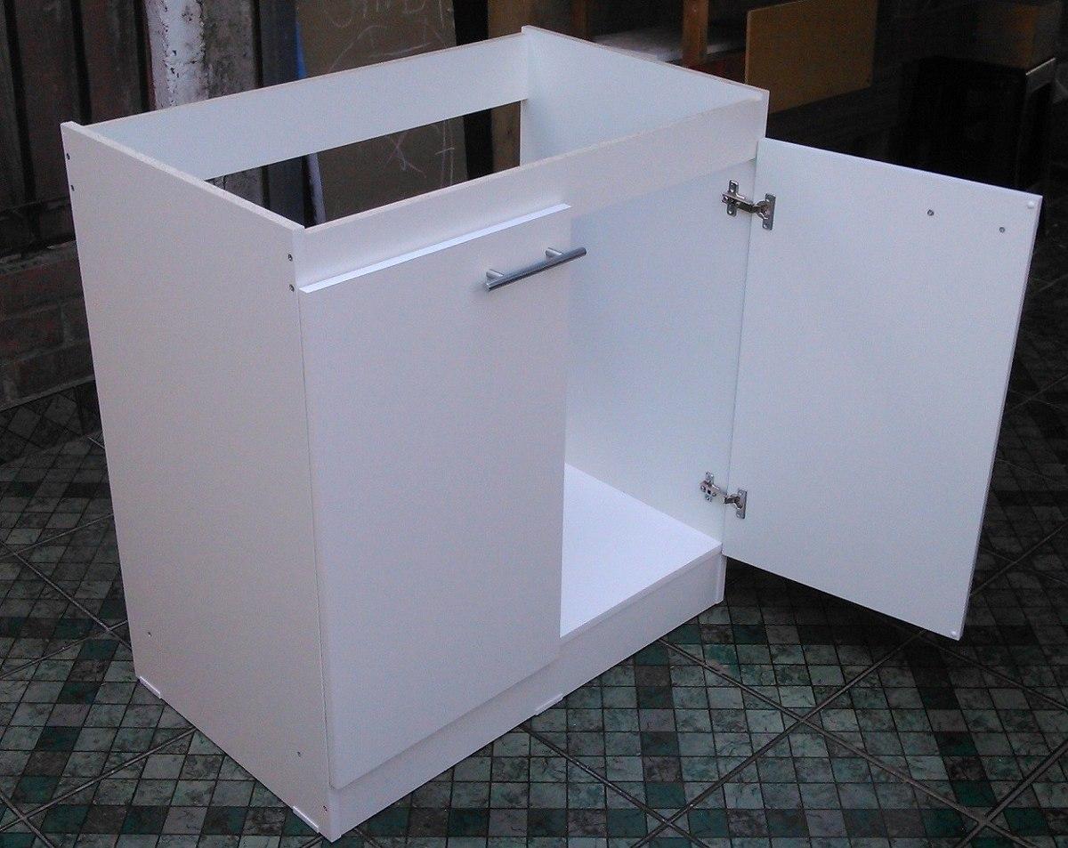 mueble base para lavaplatos 84 x 80 x 50 en mercado libre. Black Bedroom Furniture Sets. Home Design Ideas