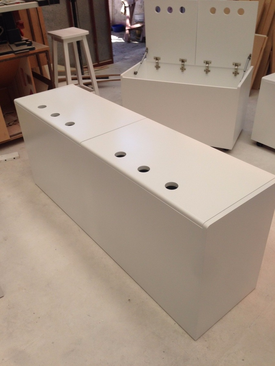 Lujo Cama Pedestal De Estructuras De Muebles Galería - Muebles Para ...