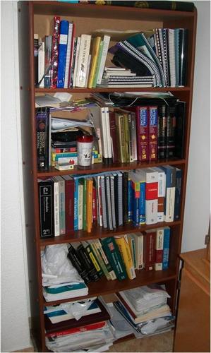 mueble biblioteca o estante sala habitación