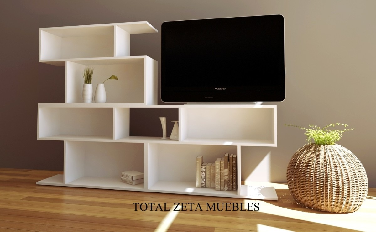 Muebles rack para living obtenga ideas dise o de muebles for Muebles modernos living para tv