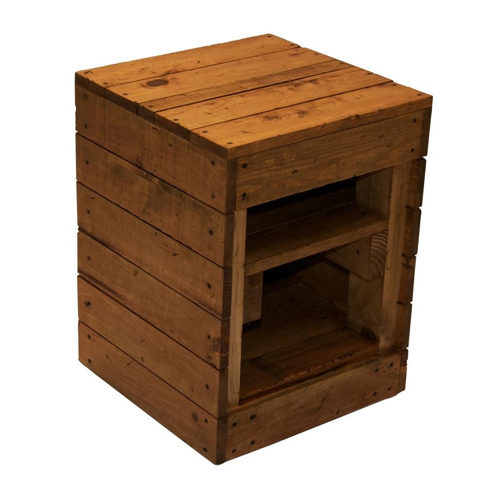 Mueble bur de madera tipo pallet decoraci n 2 for Buros de cama modernos