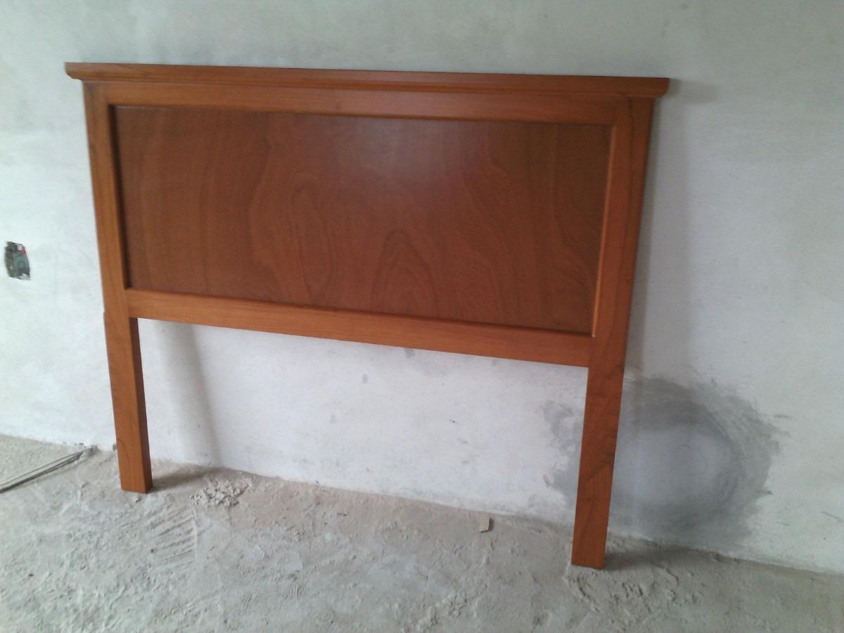 Mueble Cabecera Matrimonial En Madera De Cedro - $ 2,350.00 en ...