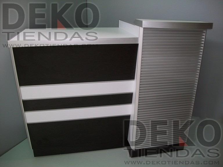 Mueble caja moderno para tiendas y oficinas bs for Caja de ingenieros oficinas