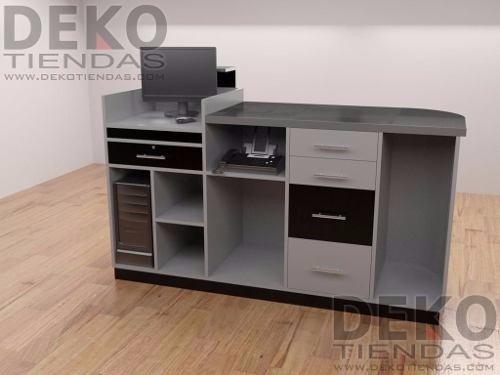 Mueble Caja Mostrador Para Su Tienda O Local Comercial  Bs 858765