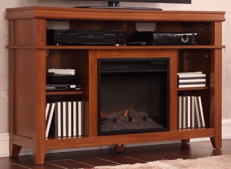 Mueble con chimenea affordable with mueble con chimenea - Chimenea electrica mueble ...