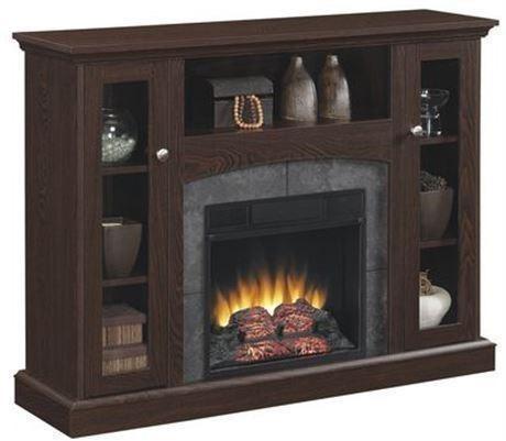 Mueble calefactor chimenea el ctrica contempor nea 121cm r c 8 en mercado libre - Mueble para chimenea electrica ...